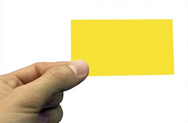 Carton-jaune
