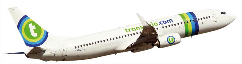Transavia-avion
