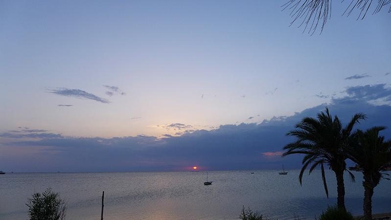kerkennah coucher soleil